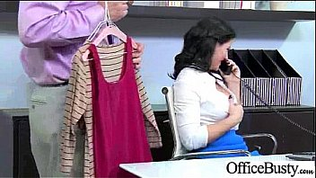 Sex Tape With Round Big Tits Horny Office Girl (casey cumz) clip-12