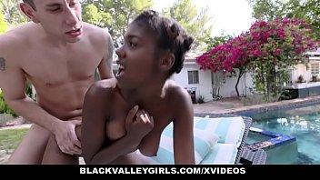 Black Valley Girls - Skinny Teen (Daizy Cooper) Banged By Her Swim Instructor