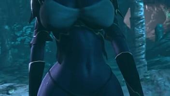 Queen Nualia 3D Hentai (Fallen Throne)