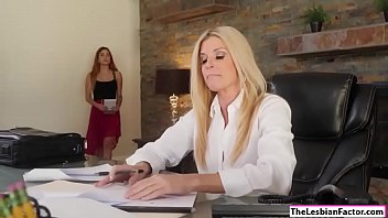 Bokep India Summer makes her assistant lick her pussy