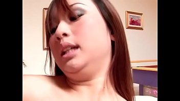 Naughty asian girl Tia Tanaka rides her boyfriend's hard shaft in cowgirl position