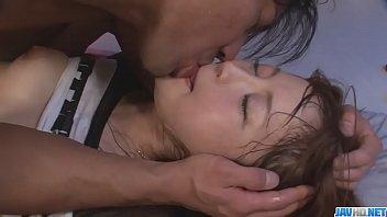Bokep XXX Hot japan girl Maomi Nakazawa suck a cock