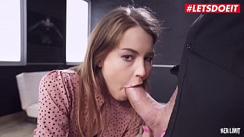 HER LIMIT - Fit Fashion Model Cindy Shine Tries Hard Anal With A Really Big Cock Guy