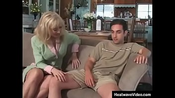 MILTF #6 - Nina Hartley, Andrew Andretti - Mature stepmom can use his sexual experience to drive her new son completely fucking crazy