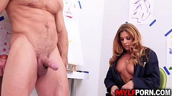 MILF artist India Summer fuck painting session