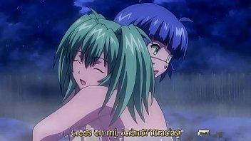 anime lesbian school girl
