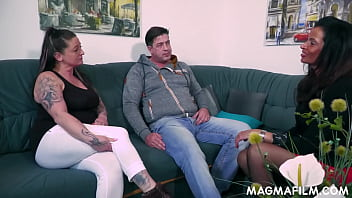 Naughty big breasted mature babe Dacada learning some sinfully tricks from her sex teacher