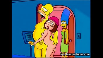 Marge and Lois famous toons swingers