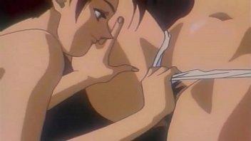 Pregnant Anime Maid Deepthroats Cock