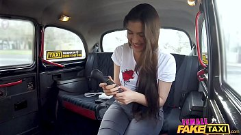 Female Fake Taxi girl on girl sex action