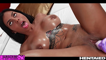 Real Life Hentai - Hot colombian Milf explodes with eggs and cum from all holes