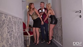 Video Ngentot After Party blowjob Threesome with Cherry Kiss & Ani Blackfox