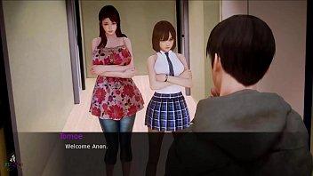 Hentai Visual Novel Waifu Academy Female sexy voice Part 1