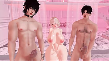 my imvu brothers had a huge load and their girlfriends wouldn't help them out so i let them use me hehe | IMVU