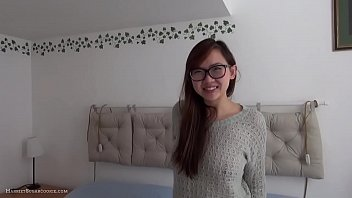 Cute busty geeky asian exgf homemad fuck