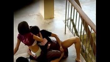 Myanmar student couple