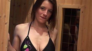 Bi curious foursome at the sauna