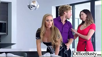 Porno Bokep Busty Office Girl (Nicole Aniston) Get Hardcore Action Bang vid-23