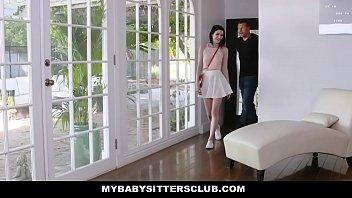 Bokep MyBabySittersClub - Pale Babysitter Teen Seduces Boss