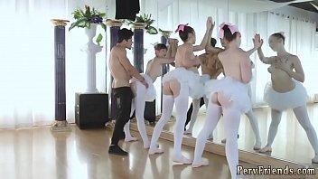 Cute teen girl blowjob xxx Ballerinas
