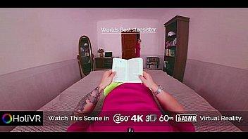 Bokep [HoliVR] World Best Stepsister Midnight Blowjob   360 VR Porn