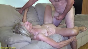 ugly 82 years old skinny grandma with saggy tits gets extreme rough big dick banged by her stepson