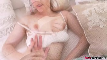 Niki Snow loves her dads cock in her pussy