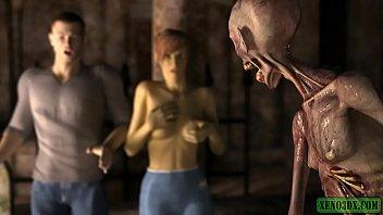 Horny Zombie. Hentai Horror