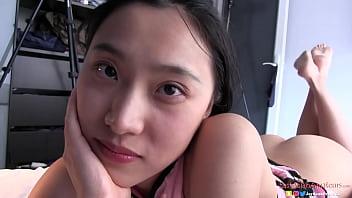 Chinese Slut 刘玥 Get's Her Pussy Filled in Paris By American Guy Jay Bank x June Liu SpicyGum