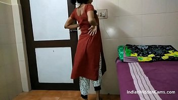 Bokep Indian Aunty Filmed In Bedroom Changing Dress And Fingering Pussy