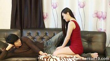 Korea girl massage for Boss(little Sex) and So good