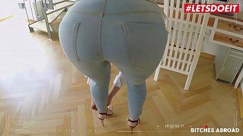 LETSDOEIT - Big Booty Babe Anya Akulova Blows And Fucks Hard In POV Style