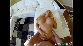 Blonde Milf with Big Tits POV