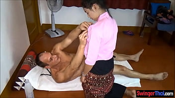 Asian amateur masseuse hottie fucked by a paying customer