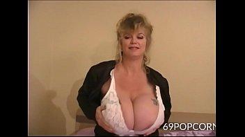 Mature Granny with Big Tits Anal Dildo - 69POPCORN.COM