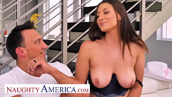 Naughty America - Bella Rolland hang over cure is to have multiple orgasms so she needs some dick