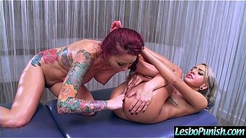 Punish Sex Games With Lesbians Girl On Girl (janice&monique) video-26