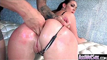 Oiled Girl (Brittany Shae) With Big Round Ass Like Anal Sex clip-12