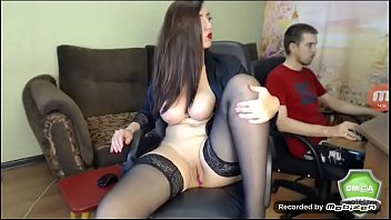 Bokep Hot Russian cam model with amazing body