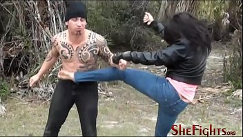 Bare Fist, Broken Teeth - Outdoor Painful Beatdown