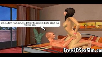 Horny 3D cartoon couples having some steamy sex