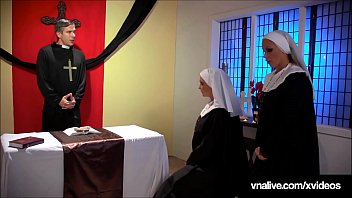 Bokep School Girl Nuns Nikki Benz & Jessica Jaymes lick & suck that forbidden cock & pussy in this crazy taboo clip!