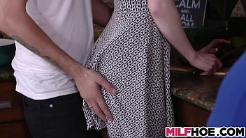 Two busty milfs sharing one dick