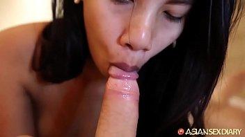 Soft-To-Hard Asian Blowjob