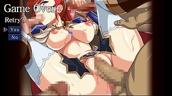 Pretty warrior girl hentai ryona in sex with man and ogre