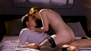 Dane Jones Passionate love making with gorgeous girlfriend in stockings and lingerie