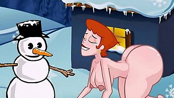 Famous toons Christmas orgy