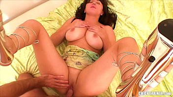 Submissive Boob Sensation Britney swallows another dick balls-deep. Busty amateur cum addict gets fucked in sexy high heels. Homemade hardcore and spunk eating. Big natural tits!