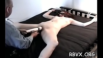 Delectable lady was eager to have an intense orgasm