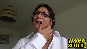 Chubby mature with big tits bangs rough